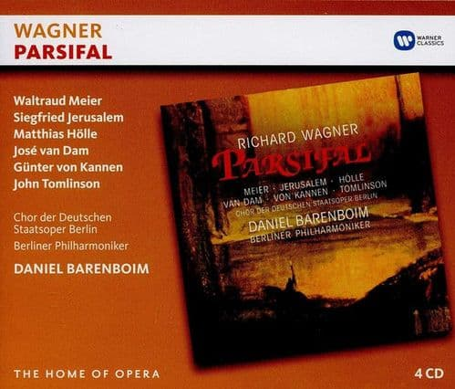 Richard Wagner<br>Parsifal<br>4CD